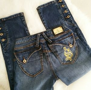 Baby Phat Cropped Jeans